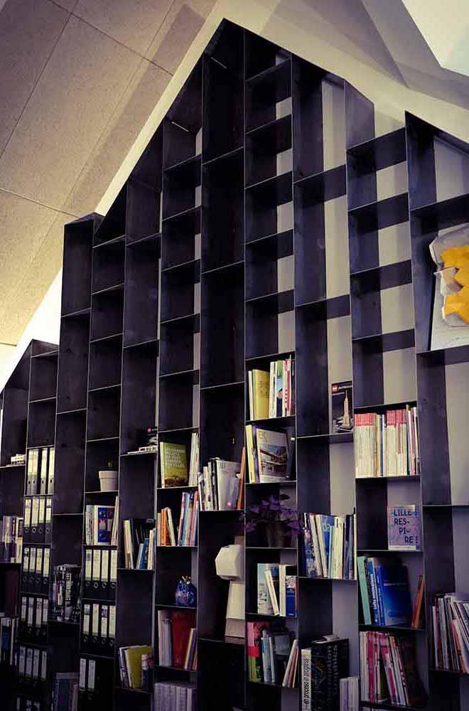 Bibliothèque métal brossé - Solifactory