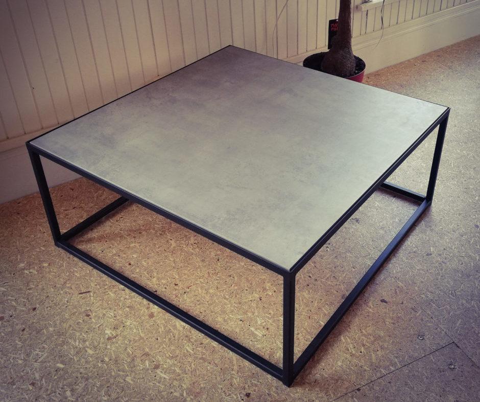 Table métal céramique - Solifactory